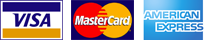 Visa - MasterCard - American Express