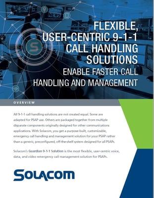 Solocom Nova Communications ROCK Networks NG 911